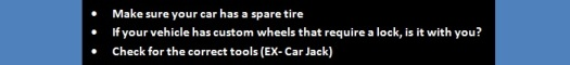 West Covina Tire Change Tips