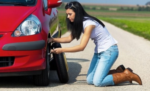 flat tire change service - beaulieu towing
